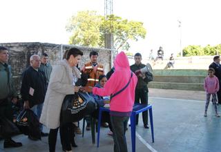 UNFPA apoyó Ministerio de Salud Pública, la Secretaría de Emergencia Nacional y las Fuerzas Armadas en esta tarea.